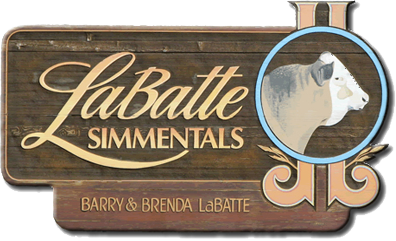 LaBatte's farm sign
